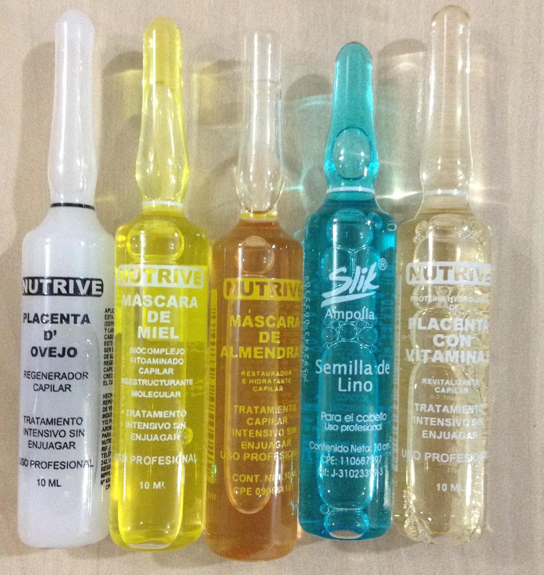 El aceite para los cabellos natural